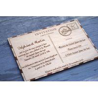 Faire-part-mariage-carte-postale-grave-laser-voyage