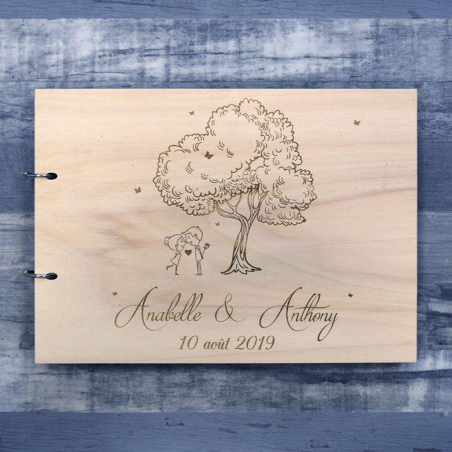 Champetre Livre D Or De Mariage Sur Bois