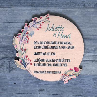 faire-part-mariage-laser-grave-couronne-fleur-floral