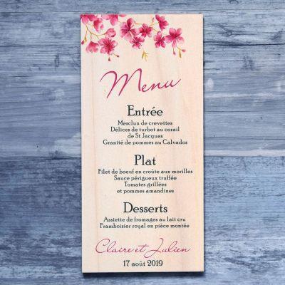 menu-bois-cerisier-mariage-fleur