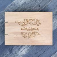 Livre d'or de mariage - Fleurs