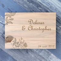 livre-or-dor-mariage-bois-grave-gravure-champetre-rustique-original